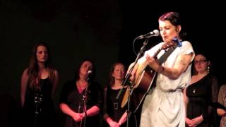 Jane Siberry | Walk on Water | Morecambe 26 5 2013