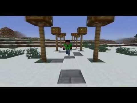 Minecraft song : Letošní rok - Mirek Popelka [+KLIP]