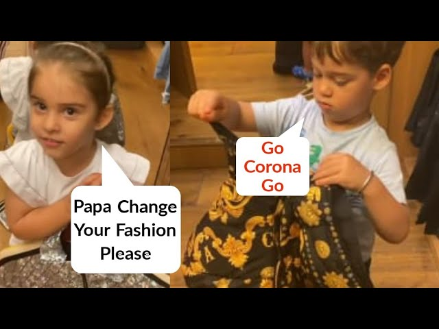 Karan Johar's Kids Yash Rooohi FUNNY Reaction On His Clothes And Fashion ???????????? | Wardrobe Diaries