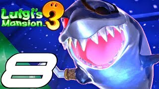 LUIGI'S MANSION 3 - Gameplay Walkthrough Part 8 - Floor 12 & 13 (Full Game) Switch