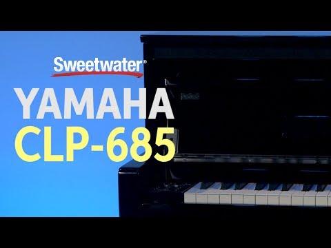 Yamaha Clavinova CLP-685 Digital Piano Review