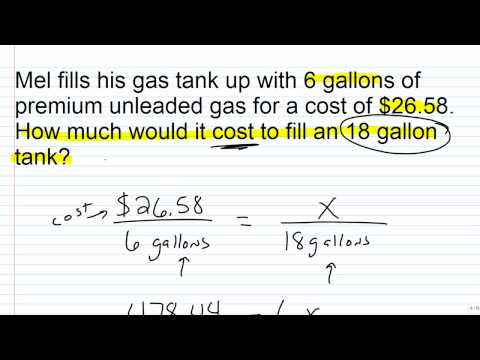 Solving Proportions: Word Problems - Expii
