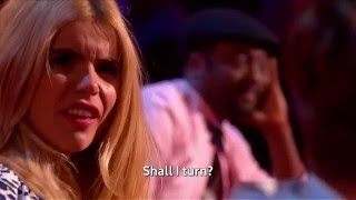 Bradley Waterman Sings Cee Lo Green's Forget You   The Voice UK