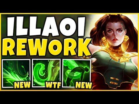 *NEW REWORK* ILLAOI IS AN AP ASSASSIN NOW (RIOT WTF) - League of Legends