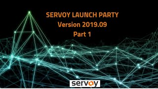 Servoy 2019.09 Launch - Part 1 - What's New