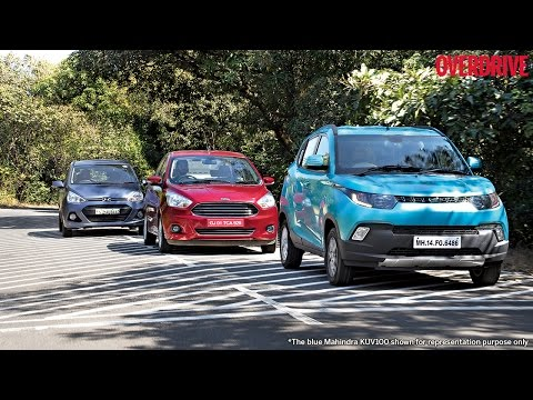 Mahindra KUV100 v Ford Figo Aspire v Hyundai Grand i10 - Comparative Review
