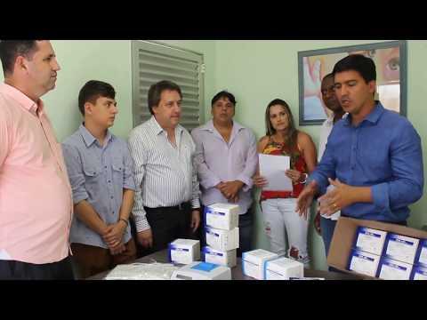 Prefeito Arizinho de São lourenço da Serra apresenta doação de um equipamento que pode salvar vidas