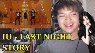 IU (아이유) - Last Night Story (어젯밤 이야기) MV Reaction [GETTING GROOVY!?]