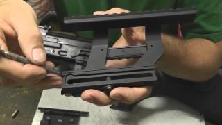 Yugo M70 and M77 scope mount mod