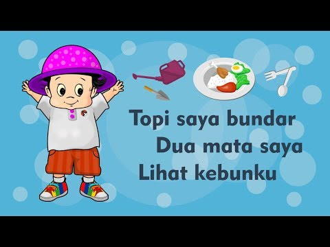 Topi saya bundar   dua mata saya   lihat kebunku   kumpulan lagu anak indonesia populer