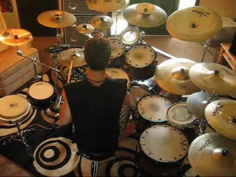 7 Ways Gone- When the Lights Come On (Drum Cover) 7-15-10