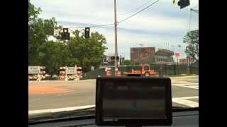Entering Auburn University Campus Via Detour
