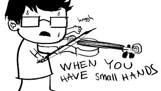 7 Struggles Small-handed Violinists Deal With Every Day