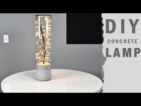 Lampe aus einer Glasvase - Recycling der besonderen Art