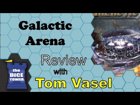 Dice Tower Reviews: Galactic Arena