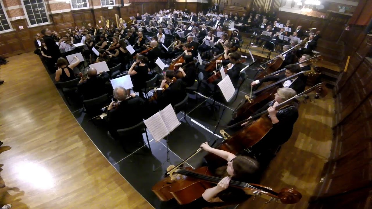 Aldworth Philharmonic Orchestra (2018) at Reading Concert Hall