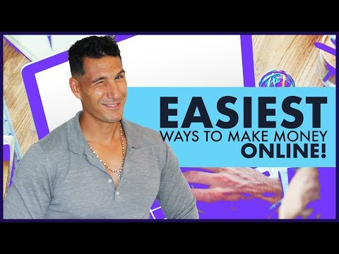 The Best & Easy Ways To Make Money Online - Starting An Online Business #3 (FREE COURSE)