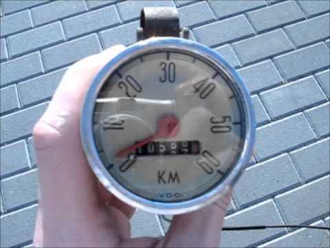 Licznik rowerowy VDO / VDO Fahrrad Tachometer / VDO bike speedometer