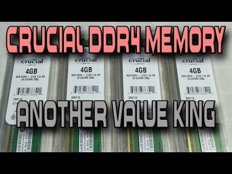 Crucial DDR4 Review (4 x 4 16GB Kit) – Benchmarks Vs DDR3 Memory