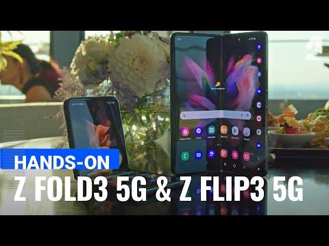 Samsung Galaxy Z Fold3 5G and Z Flip3 5G hands-on
