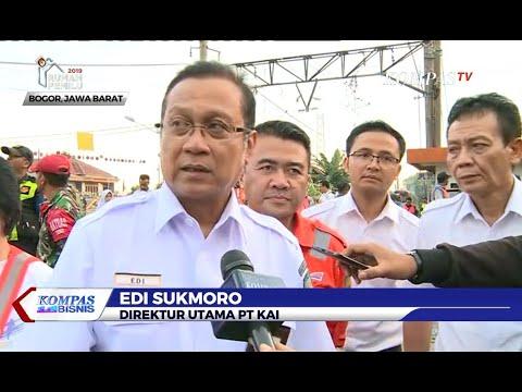 PT KAI Targetkan Perbaikan Jalur Kereta Jakarta-Bogor Selesai pada Hari Ini