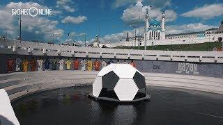 Футбольный плот появился на Булаке: он вообще для чего?