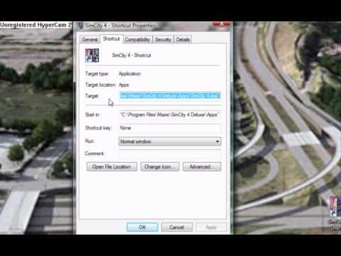 SimCity 4 Custom Resolution Tutorial