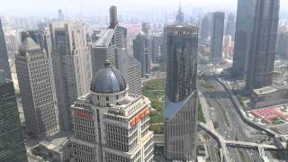 preview picture of video 'View of Shanghai City from Oriental Pearl Tower'