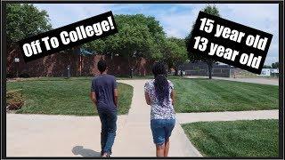 Homeschoolers start College - 13 and 15!