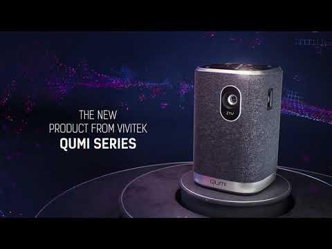 vivitek Qumi Z1V (WVGA, 250lm, Batteria, LED, 32dB)