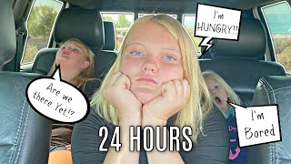 24 HOURS in a CAR! Last to WINS!