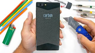 Carbon 1 MK II Durability Test - How strong is a CARBON FIBER smartphone?