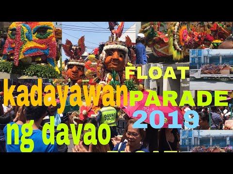 34th kadayawan  festival floral float parade 2019