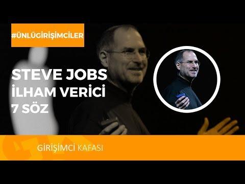 Apple'ın Kurucusu Steve Jobs'tan İlham Verici 7 Söz!