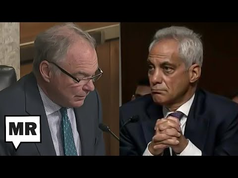 Tim Kaine Covers For Rahm Emmanuel's Racist Track Record During Confirmation