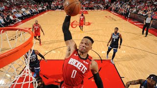 Russell Westbrook | Best Dunks | 2019-20 | Houston Rockets