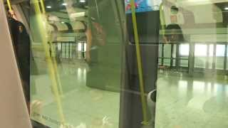 preview picture of video 'London Heathrow LHR Terminal 5 gates connecting train'