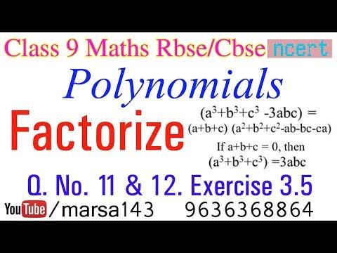 Polynomials class 9 ex 3 5 q  no  1 (iii) cbse rbse Maths
