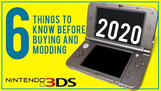 6 Things to Know Before Buying and Modding a 3DS in 2020