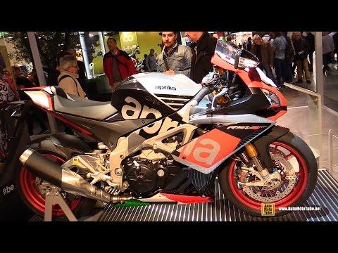 2015 Aprilia RSV4 RF - Walkaround - 2014 EICMA Milan Motorcycle Exhibition
