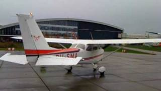 Cessna 172 engine startup [High Quality Sound]