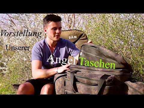 Vorstellung/2 Praktische/Karpfentaschen/Angeltaschen