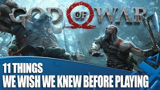 God Of War - 11 Things We Wish We Knew Before We Played