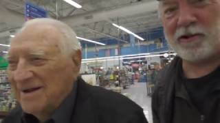 Grocery Shopping with my 102 Y/O Uncle Floyd (Don't miss the last 30 seconds!)
