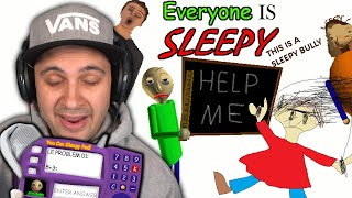 EVERYONE is sleepy... Shhhh... | Baldi's Basics