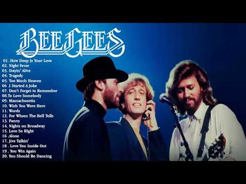 BeeGees Greatest Hits Full Album 2021 💗 Best Songs Of BeeGees Playlist 2021