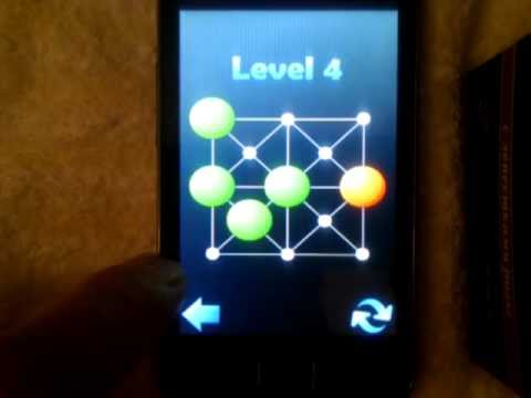 Video of Hopping dots - logic puzzle