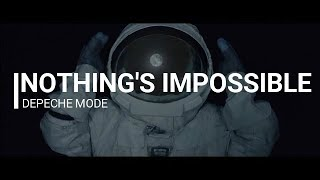 Nothing's impossible Karaoke - Depeche Mode