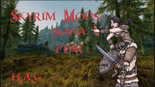 Skyrim mods #3 - Sofia - The Funny Fully Voiced Follower PTBR