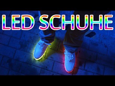 Happy Feet - Die geilsten LED Leucht Schuhe zum Tanzen mit 10 Stunden Akku ☢